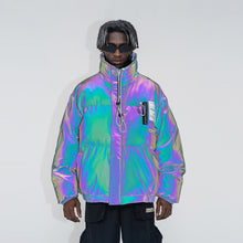 Load image into Gallery viewer, 3M Reflective PVC Logo Down Jacket