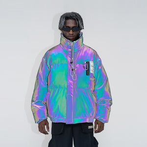 3M Reflective PVC Logo Down Jacket