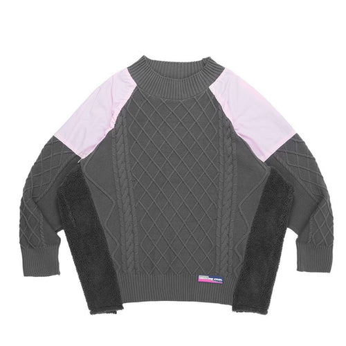 Stitched Retro Sweater