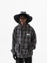 Load image into Gallery viewer, Plaid Logo Anorak