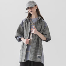 Load image into Gallery viewer, Reflective Plaid Shirt