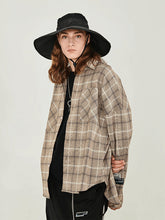 Load image into Gallery viewer, Vintage Plaid Long Sleeve Shirt