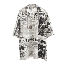 Load image into Gallery viewer, Newspaper Shirt