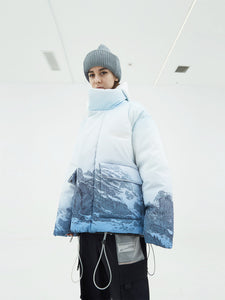 Snow Mountain Puffer Down Jacket