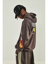 Load image into Gallery viewer, Floral Flame Hoodie