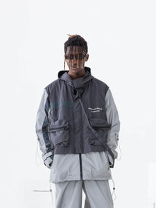 Two Layers 3M Reflective Jacket