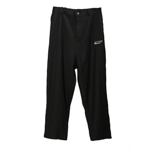 Logo Straight Trousers