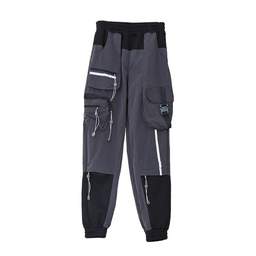 Multi-Pocket Nylon Pants