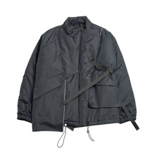 Load image into Gallery viewer, Asymmetrical Buckle Down Jacket