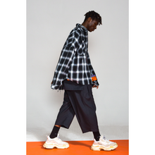 Load image into Gallery viewer, Plaid Logo Pants