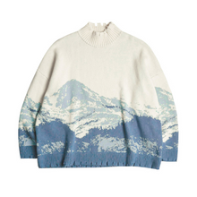 Load image into Gallery viewer, Snow Mountain Ripped Turtleneck
