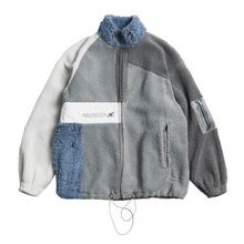 Load image into Gallery viewer, TPU Pocket Logo Sherpa Jacket