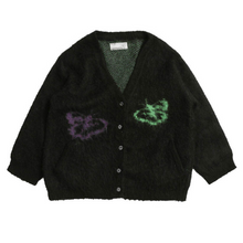 Load image into Gallery viewer, Butterflies Mohair Wool Cardigan