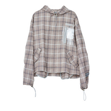 Load image into Gallery viewer, PVC Pocket Plaid Jacket