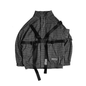 Detachable Buckle Loose Jacket