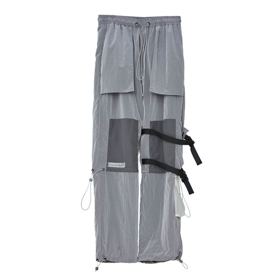 Metal Nylon Functional Pants