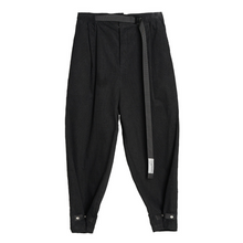 Load image into Gallery viewer, Corduroy Tapered Adjustable Trousers