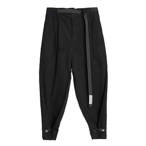 Corduroy Tapered Adjustable Trousers