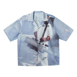 CV19 Pandemic Cuban Shirt