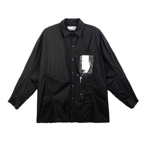 Ink PVC Pocket Long Sleeve Shirt