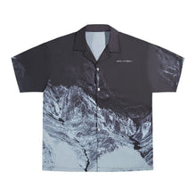 Load image into Gallery viewer, Negative Mountain Cuban Shirt