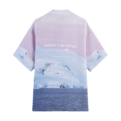 Ice Mountain Cuban Shirt