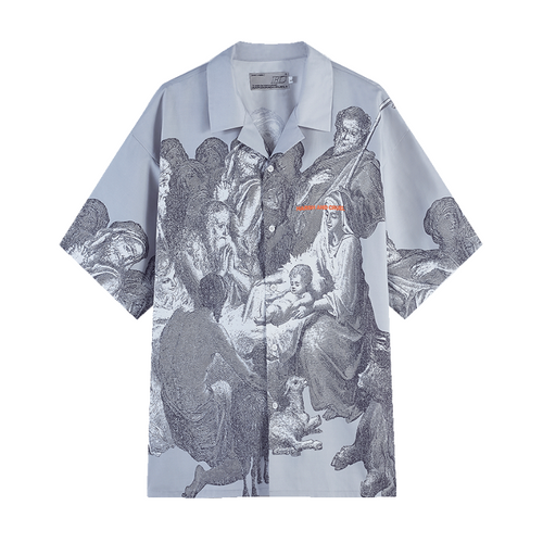 Christ Birth Cuban Shirt
