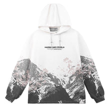 Load image into Gallery viewer, Mountain Flowers Printed Hoodie