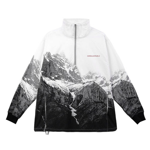 Mountain Half Zipper Jacket