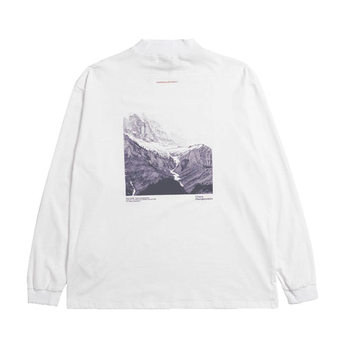 Mountain Printed LS Tee