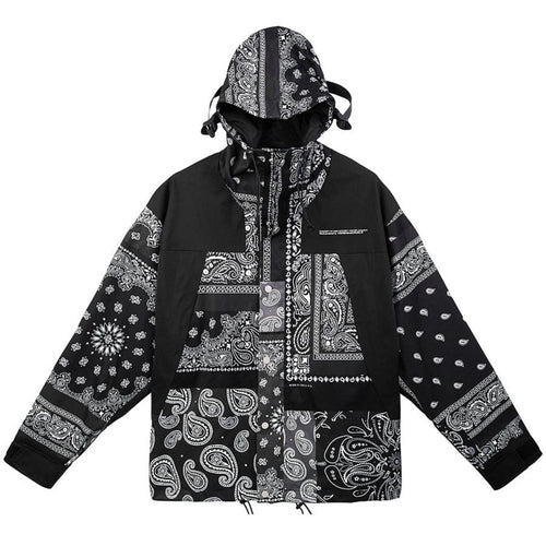 Retro Bandana Wind Jacket