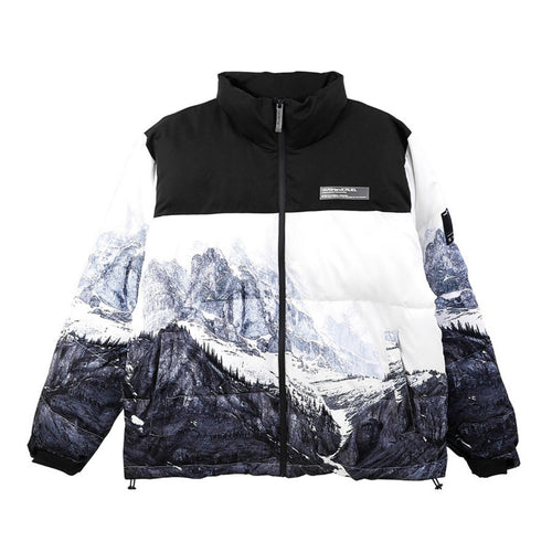Snow Mountain Logo Down Jacket