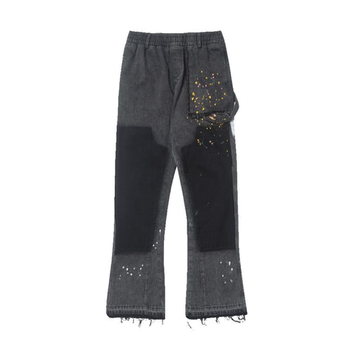 Splash Ink Flared Trousers