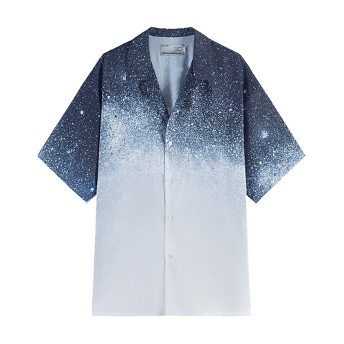 Starry Sky Cuban Shirt