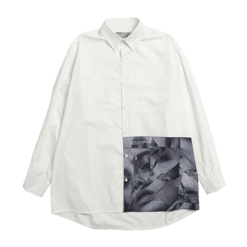 Broken Portrait L/S Shirt