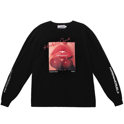 Cherry Logo Long Sleeve Tee