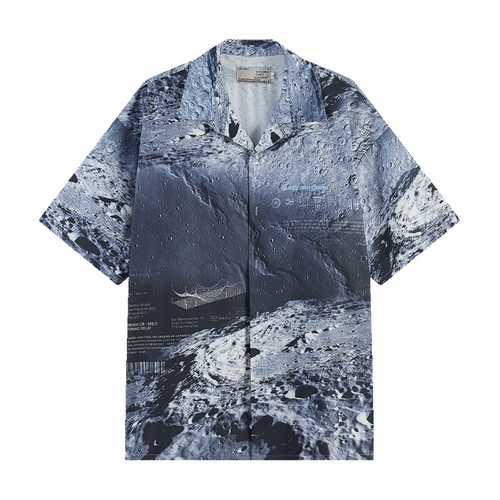 Moon Cuban Shirt