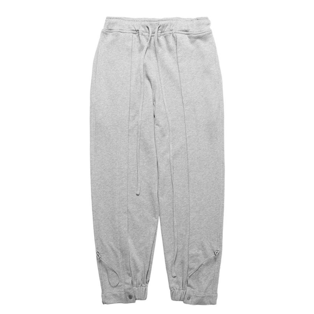 Pleated Adjustable Sweatpants