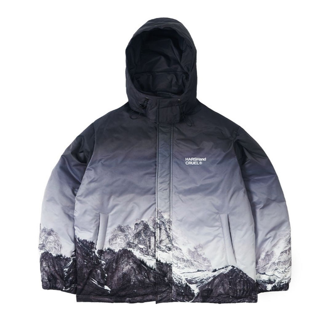 Snow Mountain Hooded Down Jacket