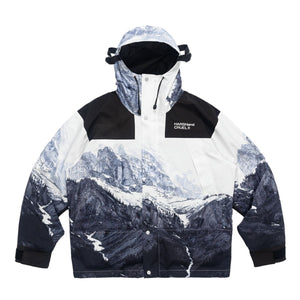 Mountain Printed Logo Jacket