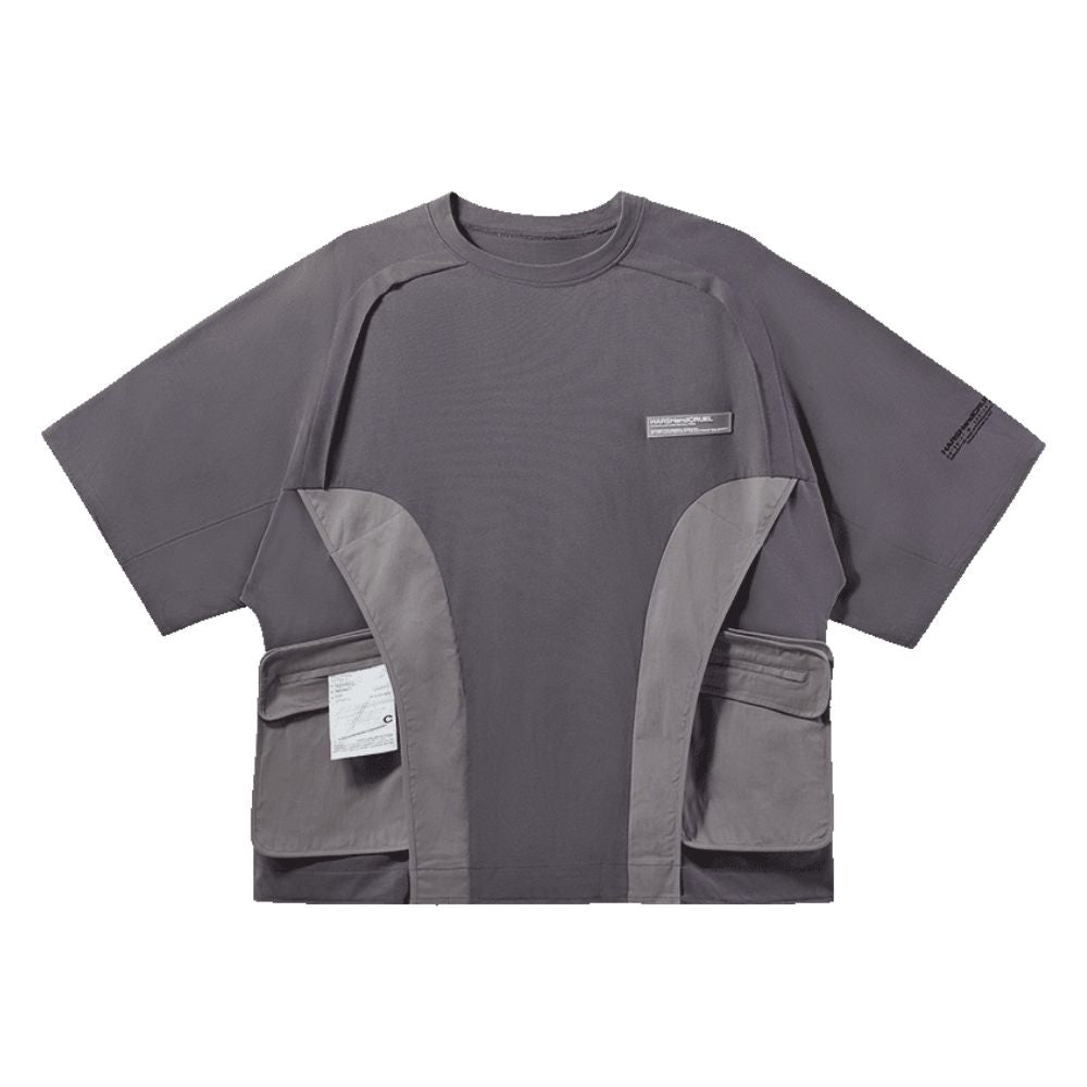 Functional Stitched Logo Tee