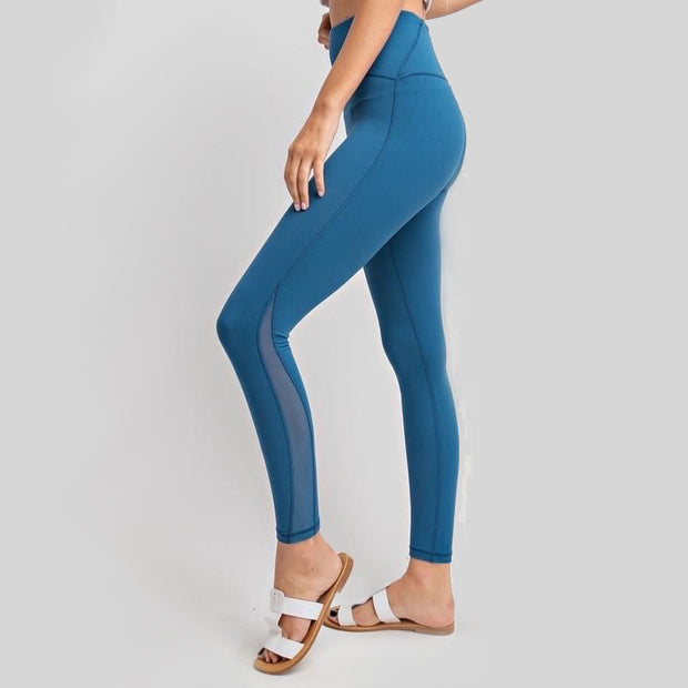 Ocean Blue Butter Leggings