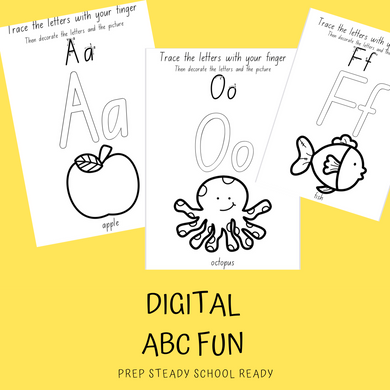 ABC Fun Tracing Booklet-*DIGITAL*