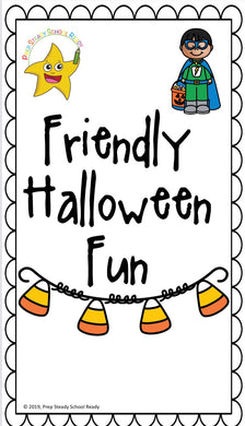 Friendly Halloween Fun- *Digital Pack*