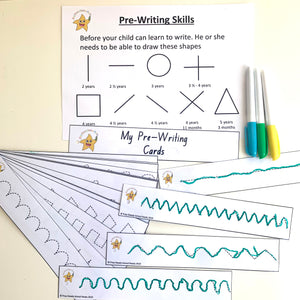 *Digital File*- Pre-Writing Cards