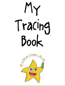*Digital File*- Pre-Writing Tracing Booklet
