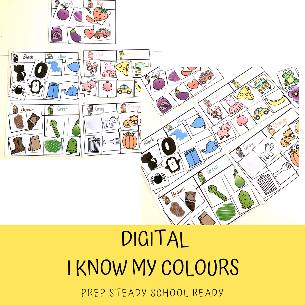 I know my COLOURS! *Digital File*