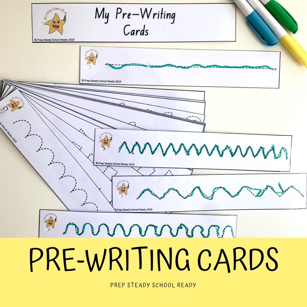 Pre-Writing Cards *Digital File*