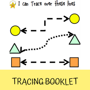Pre-Writing Tracing Booklet *Digital File*