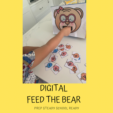 Feed The Bear- Digital File